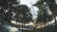 World Trade Center establishing shot