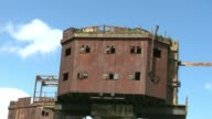 Red Sands Fort falling into disrepair ENGLAND David Phillips interview SOT Red Sands Fort