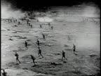 REENACTMENT World War I attack / Western Front