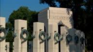 ZO, MS World War II Memorial, Atlantic Pillars, Washington DC, USA