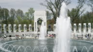 World War Two Memorial in Washington DC