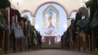 Worshippers attend Christmas mass on Tuesday in the heart of the Iraqi capital where the Christian community is one of the oldest of its kind in the...