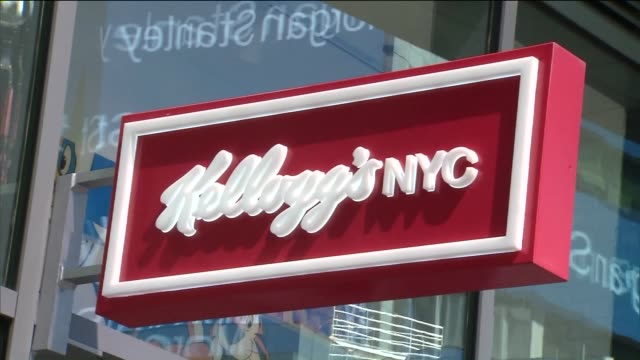 Exterior of Kellogg's Cereal Cafe In Times Square