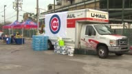 Wrigley Field Accepts Donations For Tornado Victims at Wrigley Field on November 21 2013 in Chicago Illinois