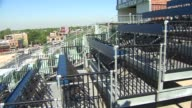 Wrigley Field Roof Top on July 02 2011 in Chicago Illinois