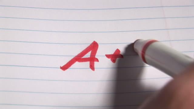 Writing a Grade