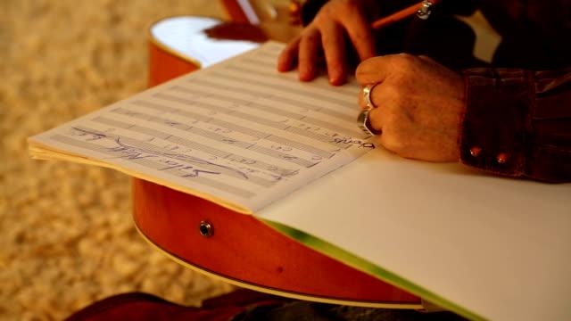 Writing sheet music