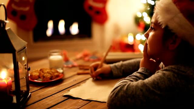 Writing to Santa Claus