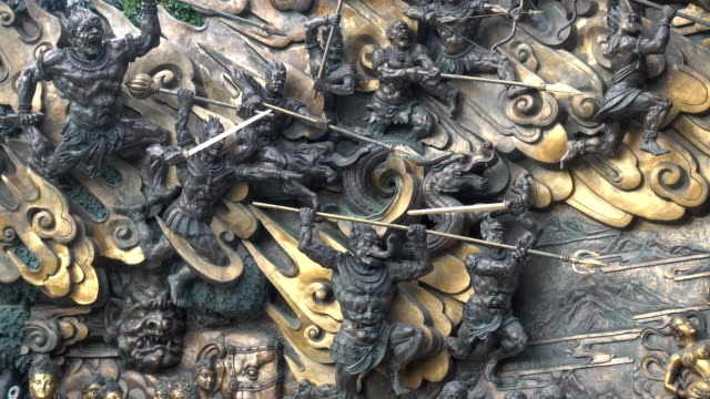 Wuxi lingshan - descending magic into a relief