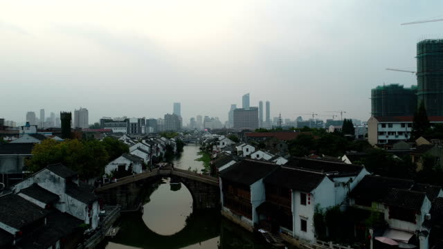 Wuxi QingMing bridge ancient canal scenic spot