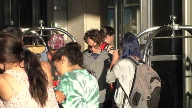 Wyatt Oleff at Celebrity Sightings at San Diego ComicCon International on July 21 2017 in San Diego California