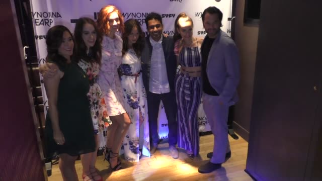 'Wynonna Earp' Cast at ComicCon International 2017 'Wynonna Earp' Media Mixer With Cast Fan Appreciation Party on July 20 2017 in San Diego California