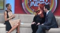 Wynonna Judd and Tony Dovolani at the 'Good Morning America' studio Wynonna Judd and Tony Dovolani at the 'Good on March 13 2013 in New York New York