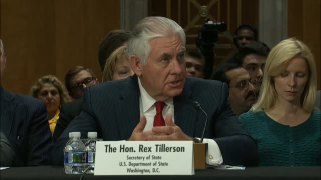 Wyoming Senator John Barraso asks Secretary of State Rex Tillerson about the US role in protecting Iraqi Christians from ISIS after reports of nearly...