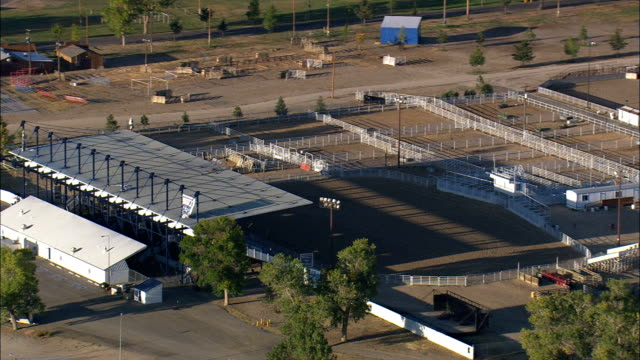Wyoming State Fair and Rodeo Ground - Aerial View - Wyoming, Converse County, United States