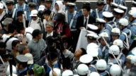 A xenophobic hate group was forced to call off a demonstration on June 52016 in Kawasaki Japan when about a dozen members found themselves surrounded...