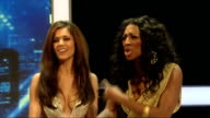 Alexandra Burke and Cheryl Cole press conference Joint press conference continued SOT