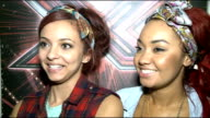 XFactor contestants interviewed Little Mix LeighAnne Pinnock and Jade Thirlwall interview SOT we are the last band standing now unbelievable can't...