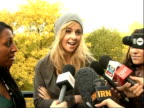 Factor finalists Alexandra Burke Diana Vickers and Laura White press conference continued SOT