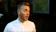 Interviews Gary Barlow up stairs and interviews SOT excited lots of changes secret of X Factor success mixed bag 8 hours and their awful it's...