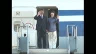 Xi Jinping Arrives in California on June 06 2013 in Ontario California