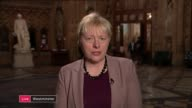 arrival / business relationship ENGLAND London GIR INT Angela Eagle MP 2 WAY interview from Westminster and Mark Garnier MP STUDIO interview SOT
