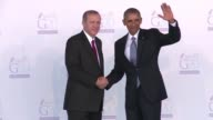 Xi Jinping Vladimir Putin Barack Obama arrive for G20 summit at the Mediterranean resort of Antalya two days after the Paris attacks claimed by...