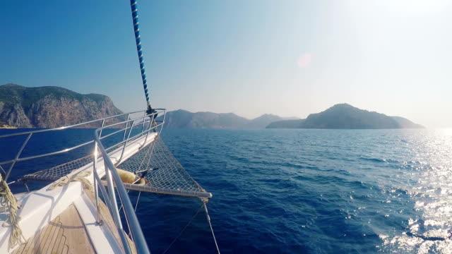 Yacht da crociera mediterranea costi (Inquadratura da una barca