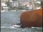 Yacht / Sailboat Hit By Ship