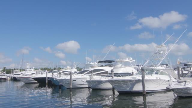 Yachts at Boatyard in Miami