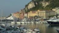 MS, PAN, Yachts in marina, Nice, Cote D'Azur, France
