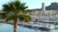 CU ZO WS yachts moored in harbor, Alicante, Alicante Province, Valencia, Spain
