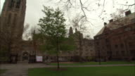 ATMOSPHERE Yale University Campus BRoll in New Haven Connecticut