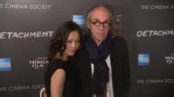Yan Lin Kaye Tony Kaye at Premiere Of Tribeca Film's Detachment Hosted By American Express The Cinema Society on 3/13/2012 in New York NY United...