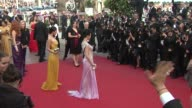 Yang Mi and Chen Tingjia at De Rouille et D'os Premiere 65th Cannes Film Festival on May 17 2012 in Cannes France Yang Mi and Chen Tingjia at De...