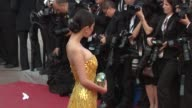 Yang Mi at De Rouille et D'os Premiere 65th Cannes Film Festival on May 17 2012 in Cannes France Yang Mi at De Rouille et D'os Premie at Lumiere on...