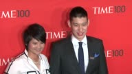Yani Tseng and Jeremy Lin at the Time 100 Gala at Frederick P Rose Hall Jazz at Lincoln Center on April 24 2012 in New York New York