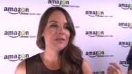 INTERVIEW Yara Martinez on the event and show at Amazoncom Red Carpet Launch Party in Los Angeles CA