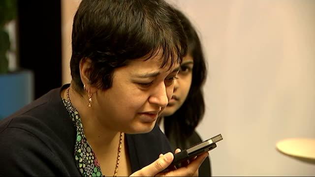 Yashika Bageerathi deported to Mauritius despite last minute court appeal ENGLAND London INT Sowbhagyawatee Bageerathi speaking on mobile phone to...