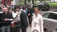 Yasmin Le Bon arrives at the Ivor Novello Awards held at The Grosvenor Hotel London on Thursday 20th May 2010 at the Celebrity Sightings in London at...