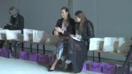 Yasmin Le Bon at the London Fashion Week Celebrity Sightings at London England