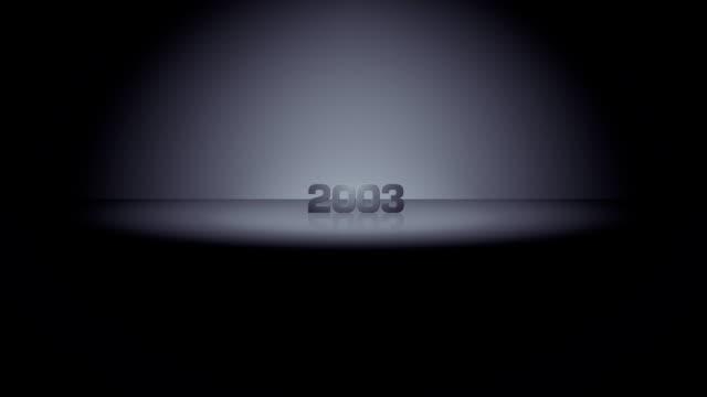 Anno orizzonte Zoom 2003