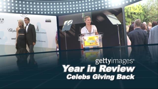 Celebs Giving Back