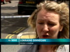 14 year old boy stabbed to death in Islington EXT Lorraine Dinnegan interview SOT