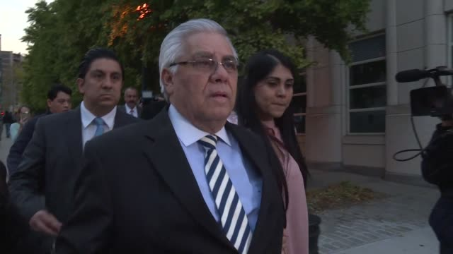 A 63 year old former Guatemalan football official received an eight month jail term Wednesday the first person sentenced by a US judge over the...