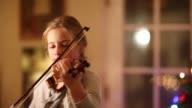 9 year old girl playing violin