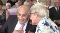 A 103 year old man and a 91 year old woman held their wedding in Britain on Saturday becoming the oldest couple to get married in the world