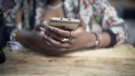 19 year old Teen Using Social Media