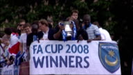 Year review January June ENGLAND Hampshire Portsmouth EXT Portsmouth parading FA Cup back in home city