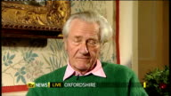 30 year rule documents reveal Thatcher government response to riots of 1981 ENGLAND Oxfordshire INT Lord Heseltine interview SOT Felt a personal...